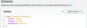 Message Type to add message details- AWS GraphQL